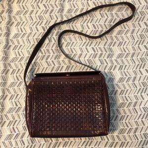 Vintage leather Fendi bag